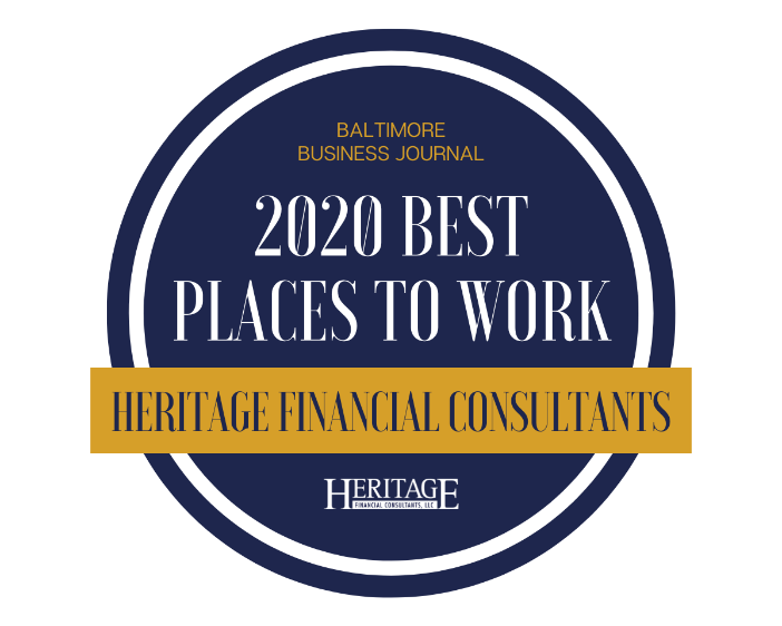Heritage Places in Top 10 for Largest Financial Planning Companies in Greater Baltimore